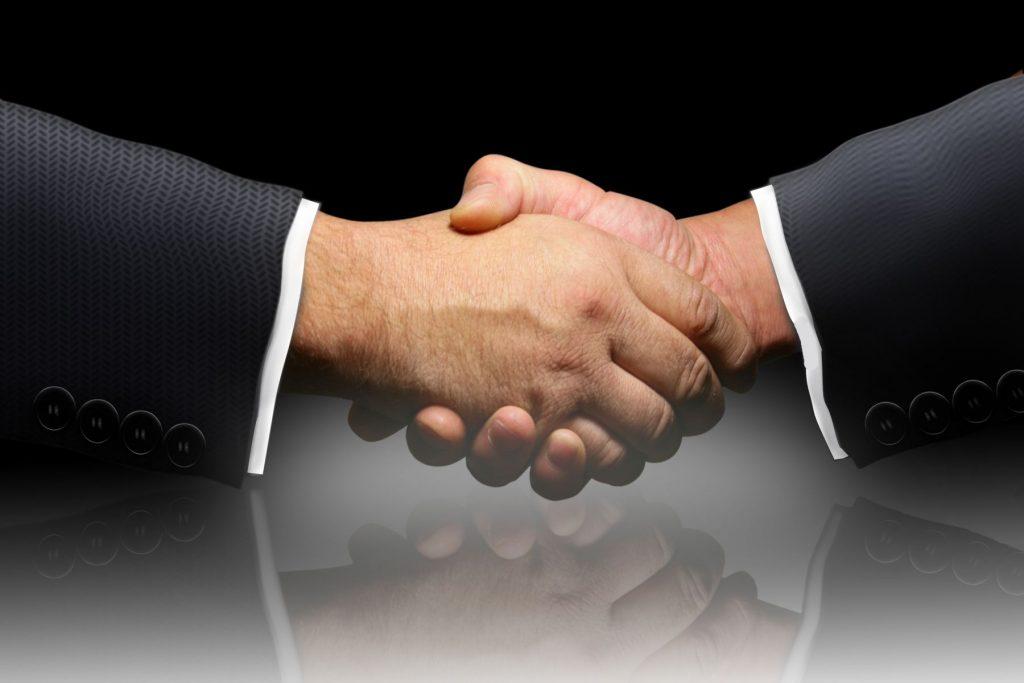 Das Vertrauen unserer Geschäftspartner wollen wir rechtfertigen.