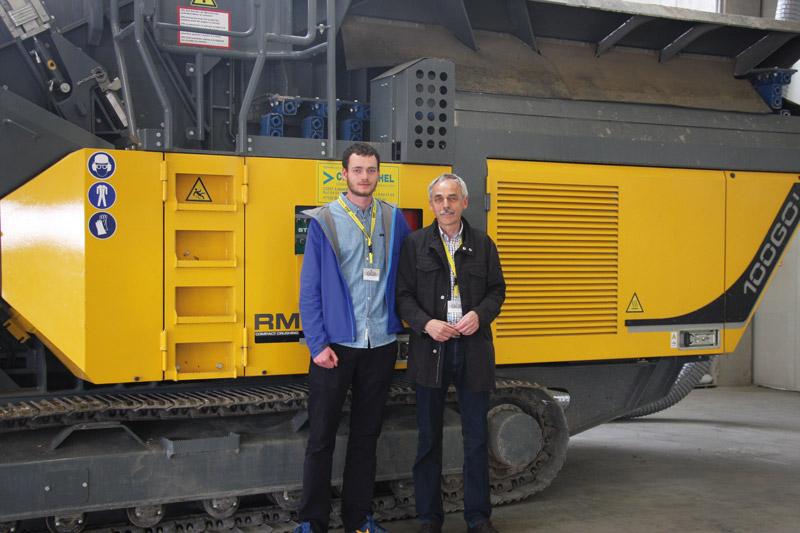 Geschäftsführer und Gesellschafter Humbert aus Dorsten freut sich über den neuen RM