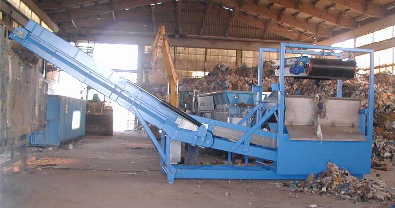 Fe-Abscheider für die Trennung von Eisenbestandteilen